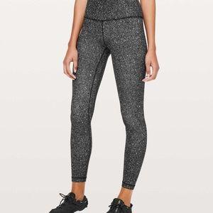 "Lululemon Luminesce Splatter Align Pants (25"")"